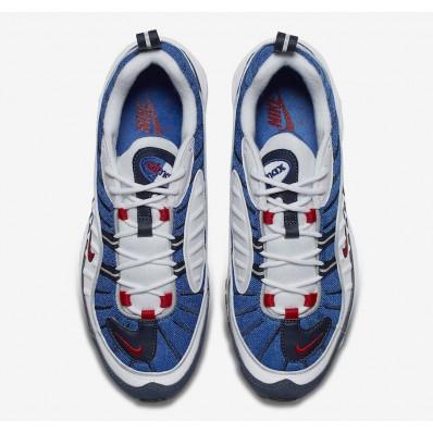 Acheter air max 98 rouge bleu blanc en soldes 24427