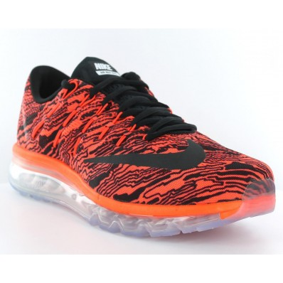 Basket air max 2016 rouge et noir France 25611