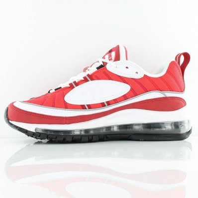 Basket air max 98 rouge et blanc 2019 24383