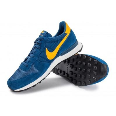 Shop nike internationalist homme bleu et jaune Chaussures 32615