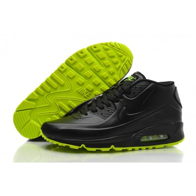 Vente air max 90 leather noir homme France 8045