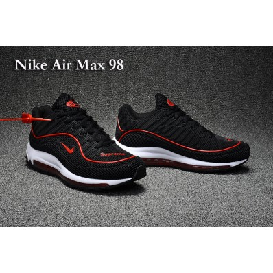 Vente air max 98 rouge blanche 2019 24380