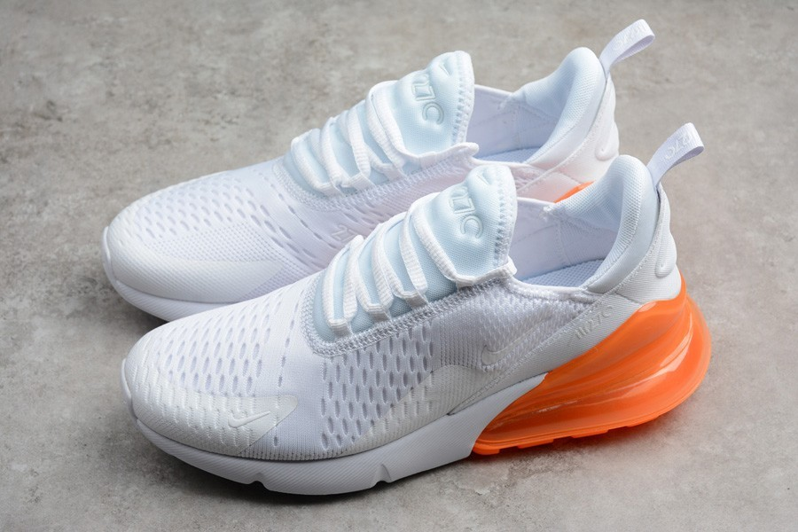 2019 air max 270 blanche orange Chaussures 29077