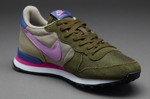 nike internationalist femme olive