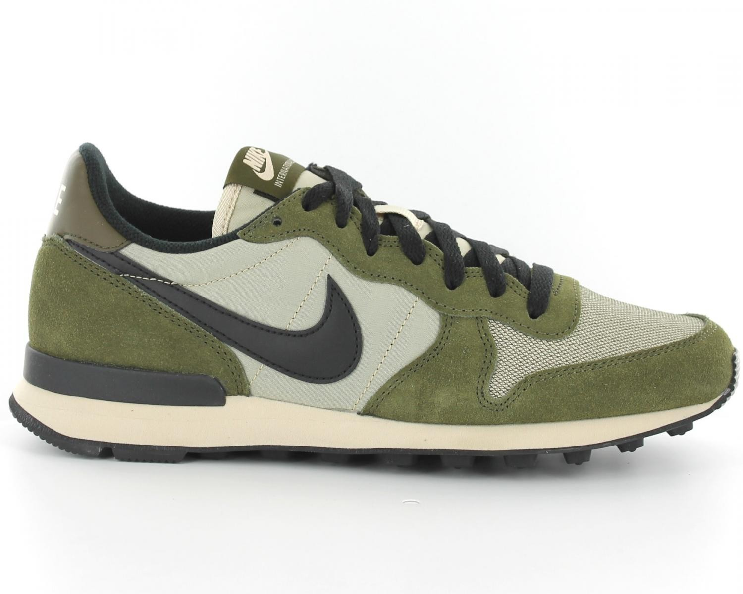 nike internationalist kaki femme