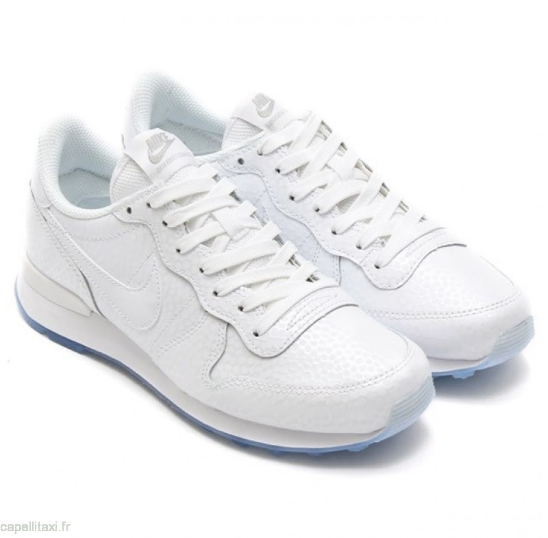 nike internationalist blanche femme