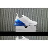 Acheter air max 270 flyknit blanche Chaussures 28140