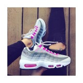 Shop air max 95 femme rose et noir en france 14370