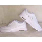 Vente air max thea blanche strass destockage 29541