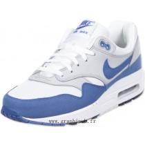 Nouveautés air max 1 blanche et bleu en ligne 27625