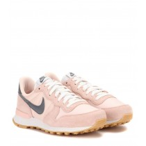 Vente basket nike internationalist femme rose gris destockage 31534