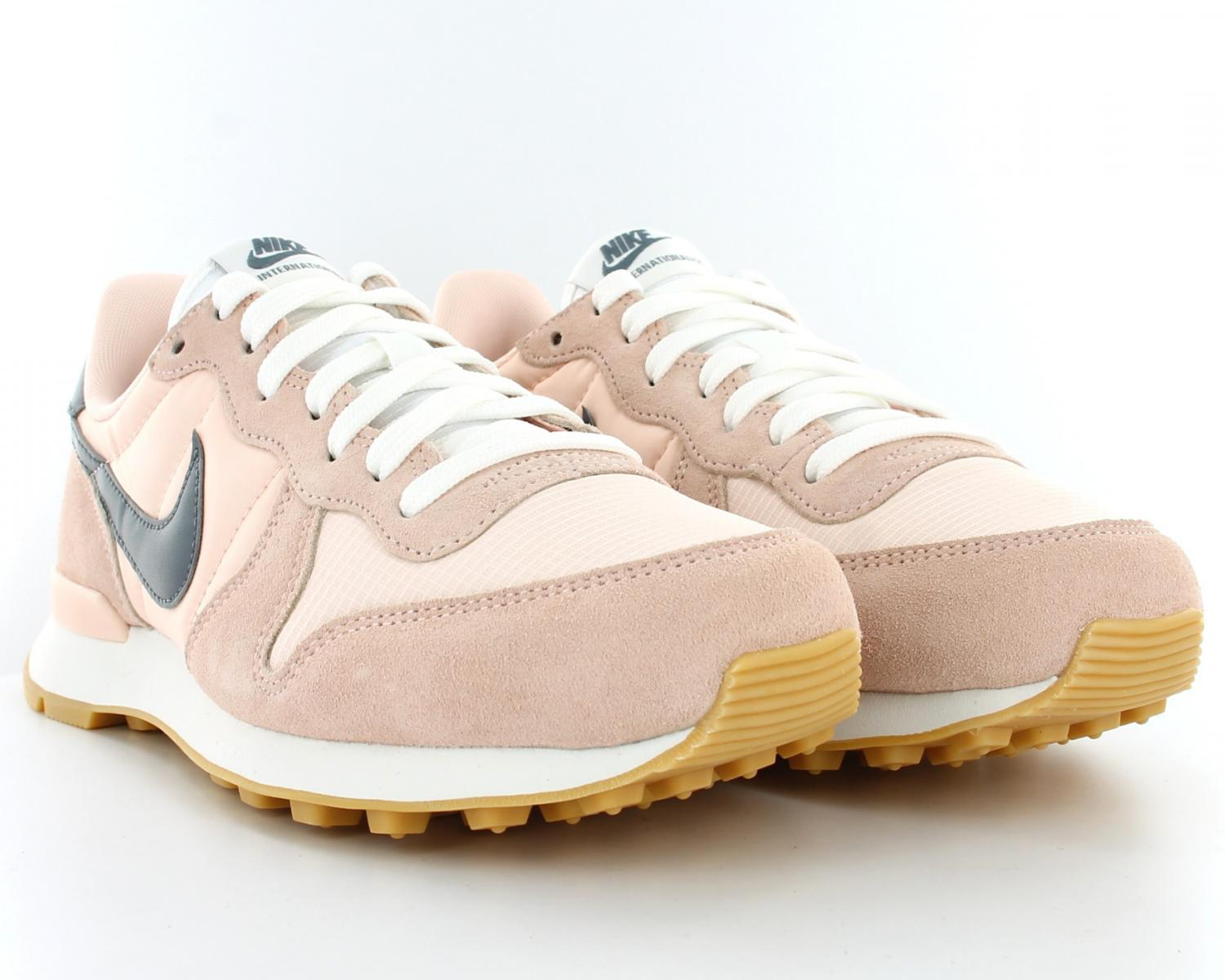 Basket nike internationalist w femme rose France 33173