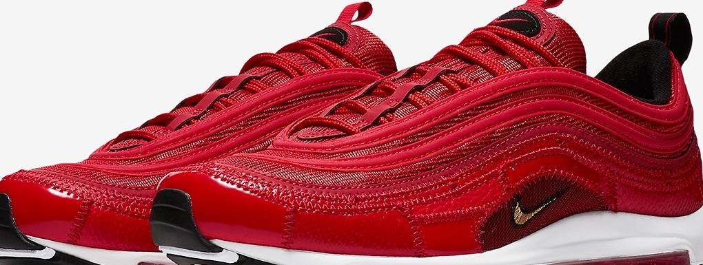 air max 97 couleur rouge