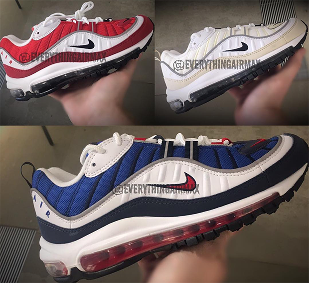 air max 98 rouge et grise