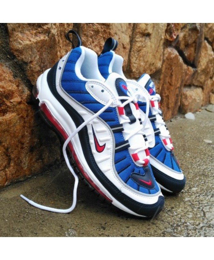 air max 98 bleu blanc rouge