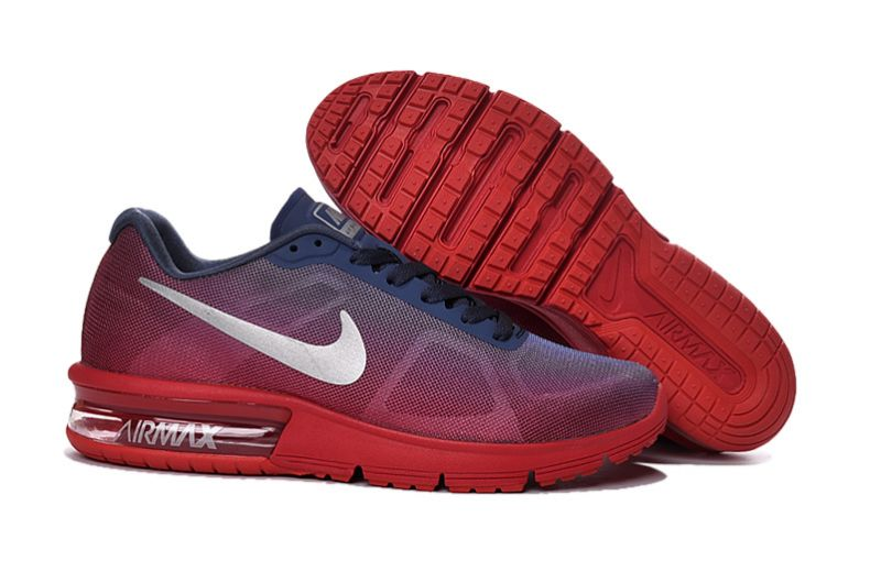air max sequent 2 rouge